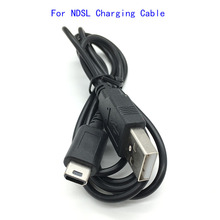 100pcs lots USB Data Power Charger/Charging Cable Lead Wire Adapter For Nintendo DS Lite NDSL DSL