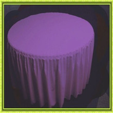 150*150*75cm round polyester table skirt wedding for hotel free shipping(China)