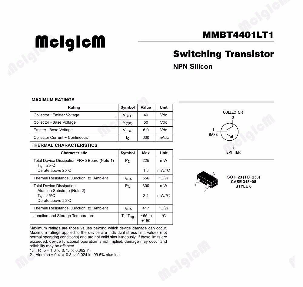50 Stücke Transistor Mosfet SI2302 SI2302DS Feldeffekttransistor SOT-23 ib