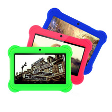 Popular 7 inch Tablet for Kids Children Gift Game Apps Android 4.4 WiFi Quad Core Tablet pc 7 8 9 10 10.1(China)