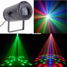Music Active Moon Flower LED Stage Lighting Club Disco DJ Party Lights(US) Moon Flower LED Color System  Auto-mode