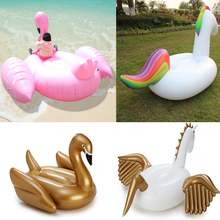 Giant pool floats swimming ring 190cm inflatable flamingos Water Pool Toys inflatable unicorn float pool for summer DHL Free