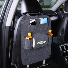 1PC Car Storage Bag Universal Box Back Seat Bag Organizer Backseat Holder Pockets Car-styling Protector Auto Accessories For kid(China)