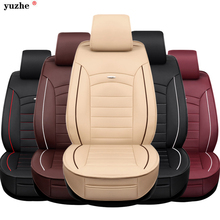 leather car seat cover For Toyota Volkswagen Suzuki Kia Mazda Mitsubishi Subaru Honda Audi Nissan Hyundai accessories styling(China)