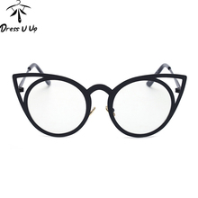 DRESSUUP 2016 Mix Rose Gold Glasses Frame Women Eyeglasses Optical Ladies Clear Lens Fashion Frames Spectacles Oculos De Grau