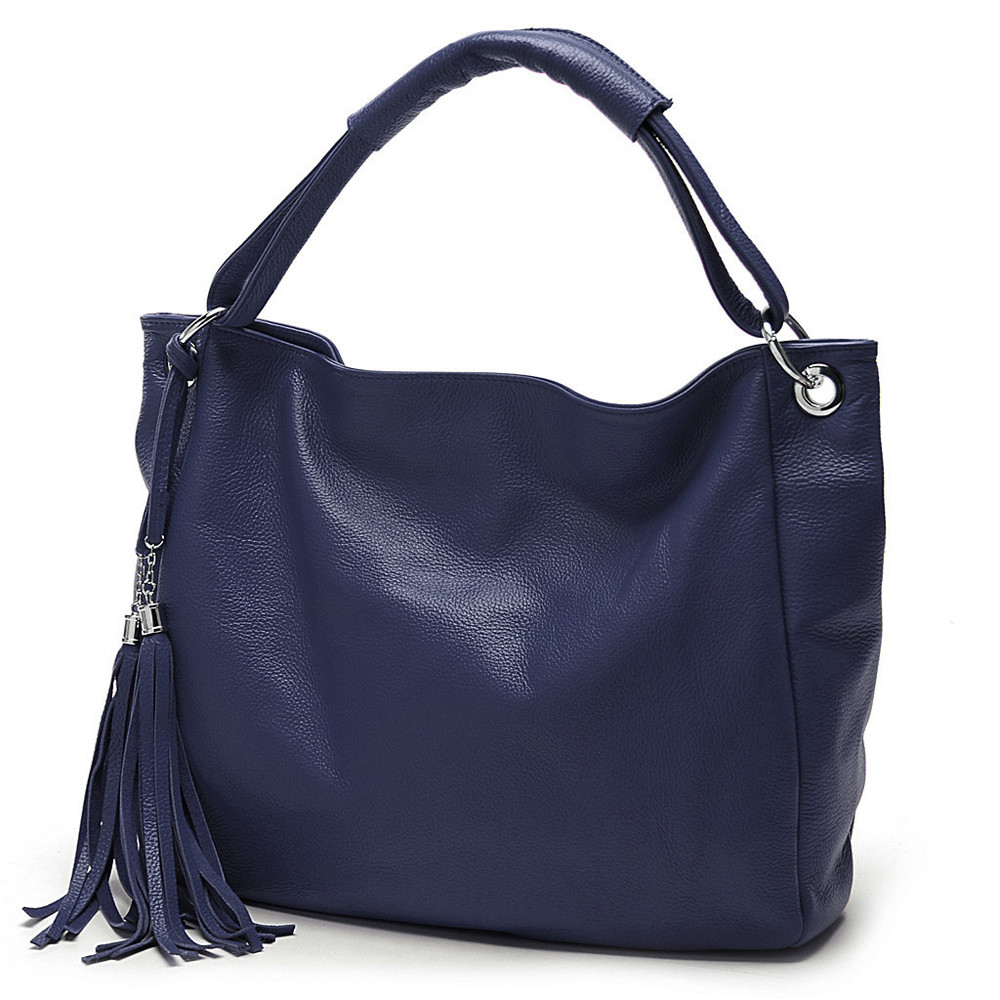 Herald Tassel Women Hobos Bag PU Leather Women Handbag Casual Women Messenger Bags Tote Solid Top-Handle Shoulder Bag<br><br>Aliexpress