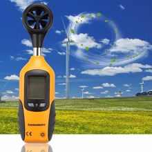 2017 1 pc Super Deal HT-81 Handheld Pocket Size LCD Screen Display Digital Anemometer Wind Speed Measurement Measuring Tool(China)