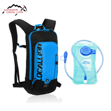 LOCAL LION Cycling Backpack Hydration Waterproof Backpack With Water Bladder Bag Running Sports Bag Backpack Cycling Rucksack 6L(China)