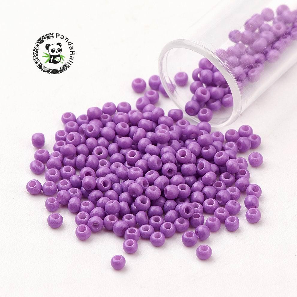 2mm varios colores, 50g abalorios semilla de cristal 0paco,tamaño 11//0 aprox