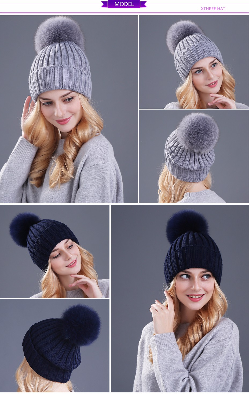 قبعات صوفية  بالوان مختلفة 9