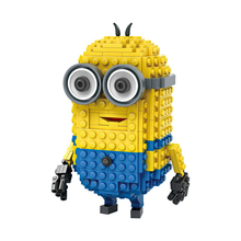 DIY Mini Building Nano blocks,compatible,children gift,Educational toys,special,cartoon roel,300pcs,Tim,minion series,LOZ Blocks - Family Center Toys Co., Ltd store
