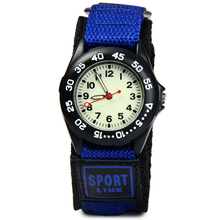 Students Sports Watches New Arrival Fabric Strap Climbing Military Quartz Wrist Watches Waterproof Strong Luminous Kids Watches(China)