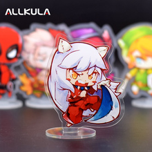New 10CM Inuyasha Action Figure Cute Acrylic PVC Collectible Model Toys Christmas Gift LP04(China)