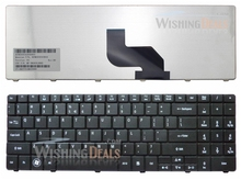 Genuine New English US Keyboard for Acer NSK-GFA1D 9J.N2M82.A1D PK130EI1A01 Black Color F3 Wireless