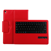 "Smart Keyboard Case for Apple iPad Pro 10.5"" inch Smart Case Stand Folio Cover with Wireless Bluetooth Keyboard 180mAh battery(China)"