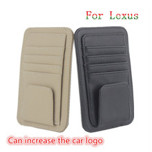 Car sun glass glasses holder credit card clip For Lexus rx330 rx300 is250 rx470 gx470 gs300 ct200h is200 lx470 rx350 lx570