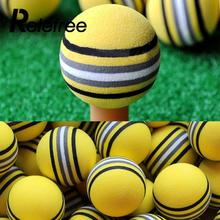 Relefree 50Pcs Colored EVA Foam Golf Balls Pack Indoor Outdoor Sports Golf Training Tools(China)