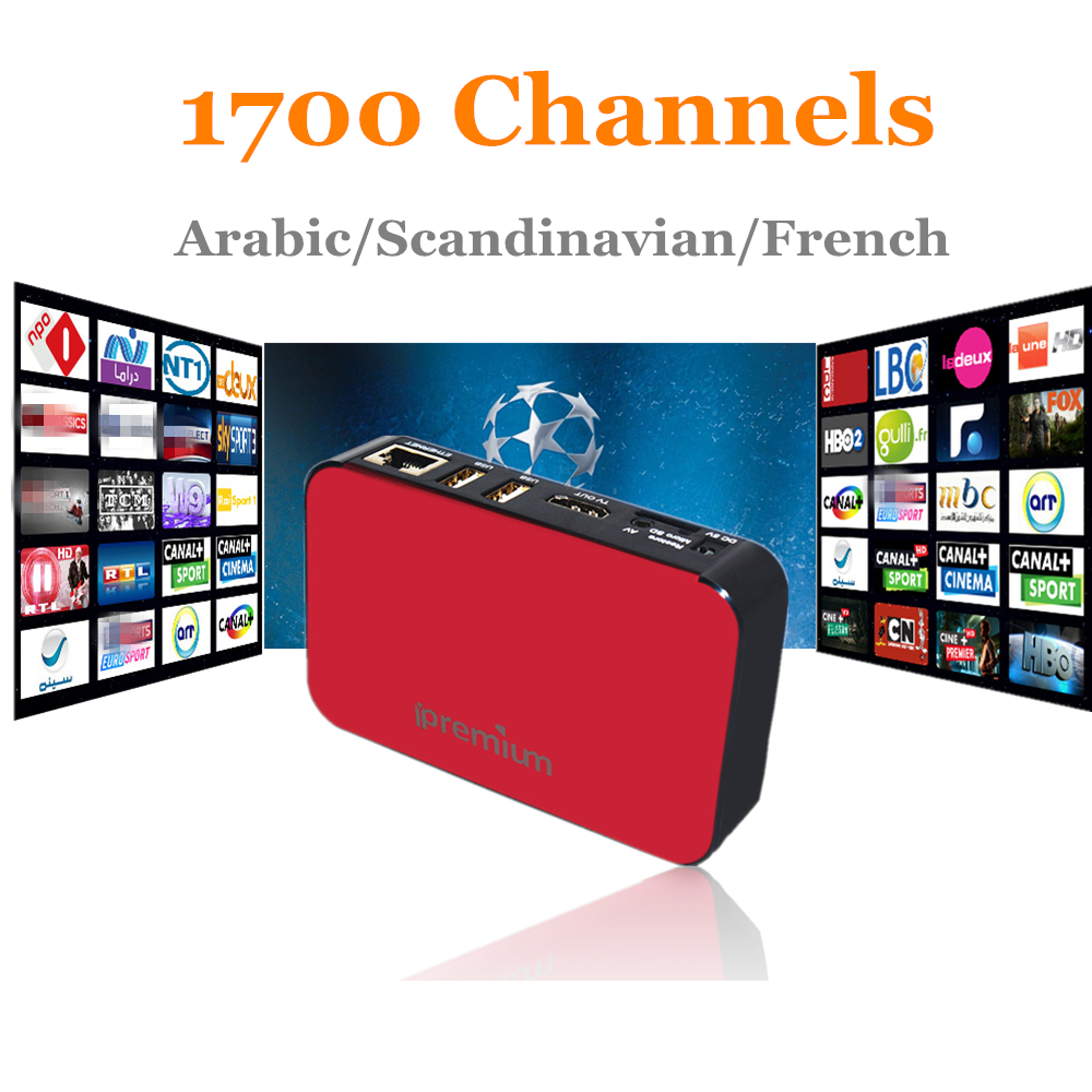 2017 GOTiT Royal IPTV Arabic IPTV+AVOV Ipremium TVonline Box+French Scandinavian Europe IPTV Subscription Best Android Tv Box