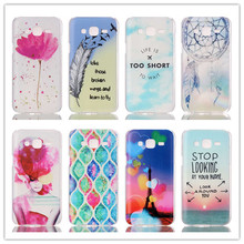 20 Painted Styles For Galaxy J5 Hard Plastic Case For Samsung Galaxy J5 J500 J500F Back Skin Cover Cell Phone Protective Bag