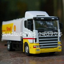 DIE CAST METAL 1/43 SCANIA TANKER MODEL TANK TRUCK TOY REPLICA