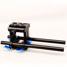 Buy 15mm Rod Rail Rig Support System Baseplate Canon Nikon Follow Focus DSLR for $58.99 in AliExpress store