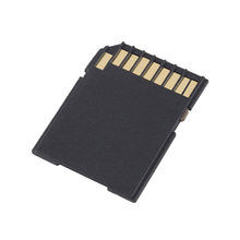 10PCS/LOT High Quality Flash MIcrosd Card Reader TF TO SD Memory Card Adapter micro #47063(China)