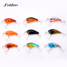 1 pcs Fishing Lures Plastic Bait Pesca Isca Artificial Hard Wobbler Bait Minnow 3D Eyes Lifelike Hook Fishing Lure 4.5cm 4g