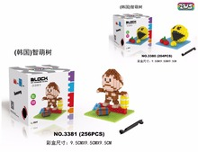 zms Mini Blocks Pixel Plastic Blocks Charmander Bricks Kong Kim Model Toy Educational Kids toys Xmas Present 3380-3381(China)