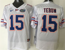 Nike Florida Gators Tebow #15 College Ice Hockey Jerseys Size M,L,XL,XXL,3XL(China)