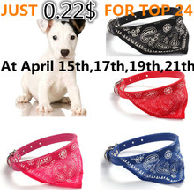 2017 Hot Sale Adjustable Pet Dog Puppy Cat Cute Neck Scarf Bandana Collar Neckerchief Support Dropshipping D35Ap9(China)