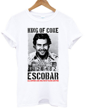 Pablo Escobar T Shirt Colombian Drug Lord Cartel Money Men's T Shirt Summer Camiseta Tshirt Plus Size S-XXXL