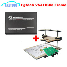 Best Match FGTECH V54+BDM FRAME One Set High Speed OBD2 K-CAN FG TECH Galletto 4  Support BDM-TriCore-OBD Function Express