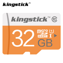100% capacity Kingstick micro sd card SDXC/SDHC 64GB /32GB/16GB/8GB Memory Card Class10 32GB Memory flash for Smart Phone/Tablet