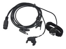 M Plug 2-wired PRO Ear vibration w/cable control & MIC for Motorola GP300 GP88 GP88S GP3688 P040 CP140 GP3188/HYT TC-500