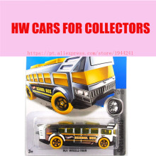 Hot Sale Hot Wheels 1:64 2016 school bus cars Models Metal Diecast Car Collection Kids Toys Vehicle For Children Juguetes(China)