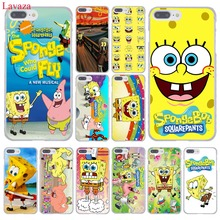 Lavaza SpongeBob SquarePants Sponge Bob Hard Phone Case for Apple iPhone 8 7 6 6S Plus X 10 5 5S SE 5C 4 4S