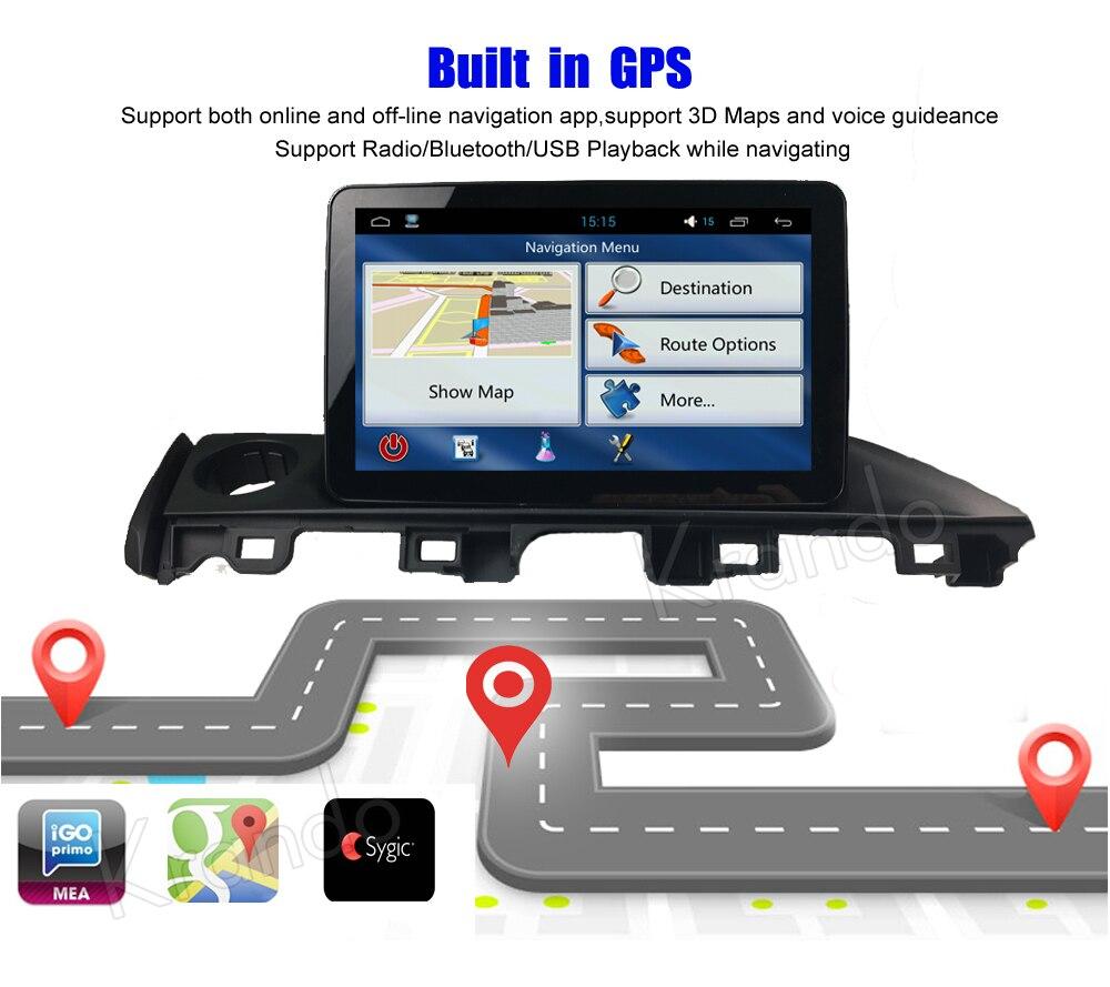 krando mazda 6 atenza android car radio gps navigation multimedia system (8)