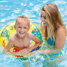 Children Swimming Laps INTEX Children Swim Ring Life Buoy Ring Armpit Floating Rubber Ring(China)