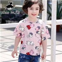 Kids-Funny-Cotton-Animal-T-shirts-2017-Cartoon-Printing-Children-Short-Sleeve-Boys-T-Shirts-Bobo