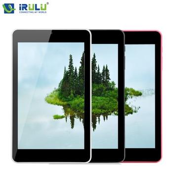Оригинал iRULU eXpro X4 7 дюймов IPS Tablet PC 1280*800 Android 5.1 Quad Core Tablet 1 ГБ RAM 16 ГБ ROM Двойная Камера Bluetooth wi-fi