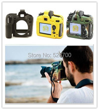Free shipping + tracking number New ! Soft Silicone Rubber Camera Protective Body Cover Case Skin bag for Nikon D7200 D7100 With