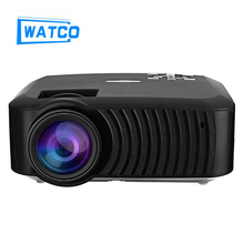 LCD Projector Android 4.4 3000LM Wireless Bluetooth 4.0 WiFi 1280 x 720 Pixels HD 1080P Home Theater Media Player