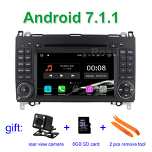 Android 7.1.1 Car DVD Player for Mercedes/Benz A/B class W169 W245 Viano Vito VW Crafter B200 with Canbus WiFi GPS Radio