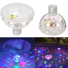 LED Underwater Aquarium Light Show LED Disco Ball for Swimming Pool Pond Light for Pond Pool Spa Hot Tub Disco