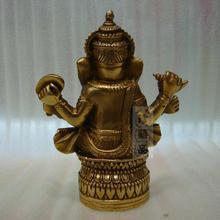 Tibetan Buddhism, Tantra, Ganesha, Geneisha, elephant headed God, Statue, buddha figure, figurine