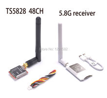 Mini 5.8G FPV Receiver UVC Video Downlink OTG VR Android Phone + TS5828 5.8Ghz 48Ch 600mW FPV AV Wireless Transmitter(China)