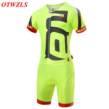 Men's OTWZLS Cycling Sets Breathable Clothes Jersey Skinsuit Summer Short Sleeve MTB Bike Bicycle Cycling Clothing 2017