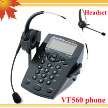 DHL freeshipping Call center telephone headset phone(China)