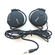 Earphone 3.5mm bass Headset Ear Hook Earphone sport headphone wired earphones For Mp3 Player Computer Mobile Telephone(China)