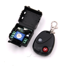 High Quality Remote Switch Wireless Universal Remote Control DC 12V Button RF switch Telecomando Transmitter Receiver 433MHZ(China)